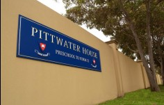 Pittwater House School wall Sign