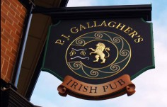 pj_gallaghers_hanging_traditional_sign