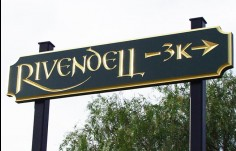 Rivendell Wayfinding Sign