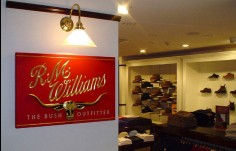 RM Williams Retail Sign