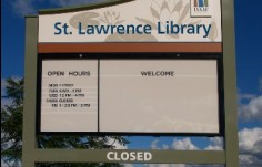 Isaac_Regional_shire_Library_sign
