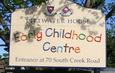 Pittwater Early Childhool Centre Sign