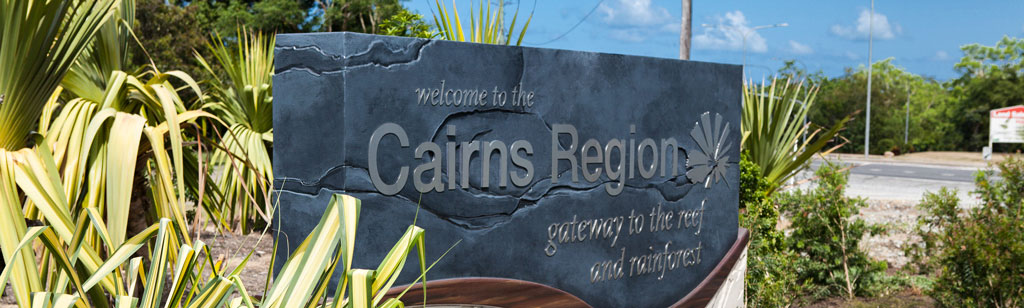 Cairns Entrance Sign