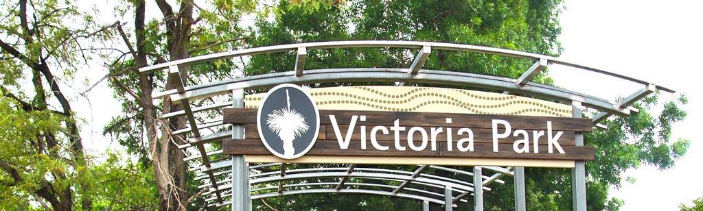 Victoria Park Sign